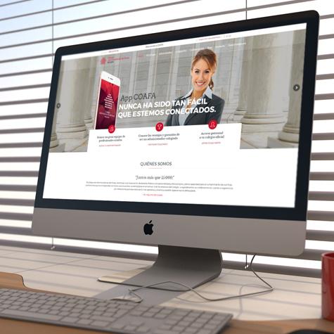 COAFA : web e intranet