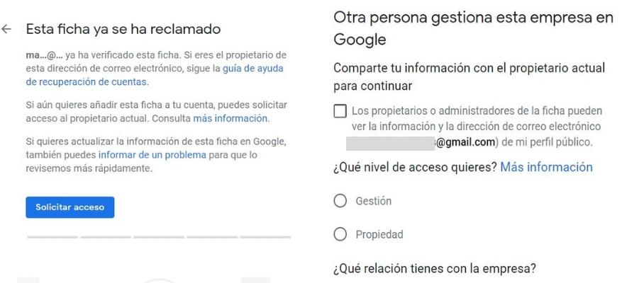 Cómo reclamar una ficha de Google My Business